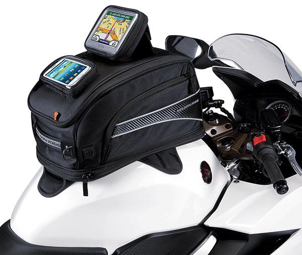 Weather Resistant Motorcycle Travel Luggage Bag with Mounting Straps Black Kuryakyn 5252 XKursion XS Depot Bag