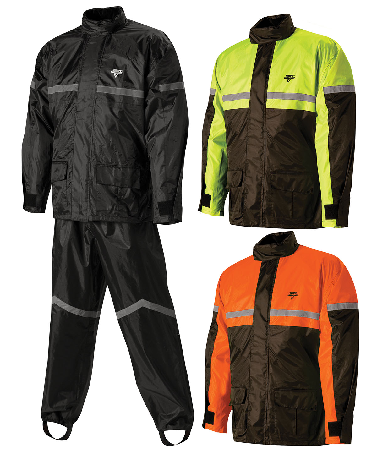 Nelson rigg sr 6000 stormrider motorcycle rain suit for Motor cycle rain gear