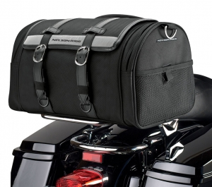 Nelson Rigg CTB-1020 Deluxe Cruiser Motorcycle Barrel Bag