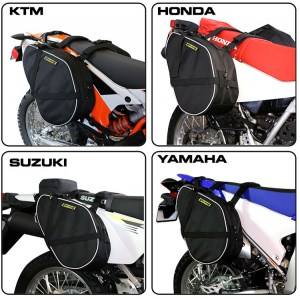 RG-020 Dual-Sport Motorcycle Saddlebags Image 1
