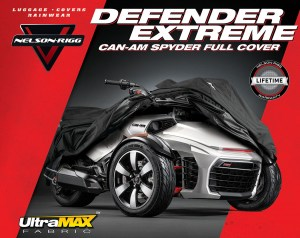 Can-Am Spyder Full Cover Image 7