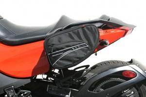 CL-890  Mini Expandable Sport Motorcycle Saddlebags Image 1