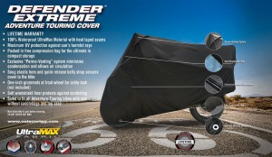 Defender Extreme Adventure Motorcycle Cover Image 8