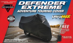 Defender Extreme Adventure Motorcycle Cover Image 7