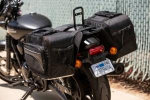 CL-855  Touring Motorcycle Saddlebags Image 5