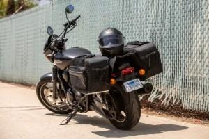 CL-855  Touring Motorcycle Saddlebags Image 7