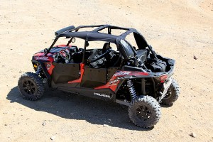 RZR Soft Top with Sunroof Image 3
