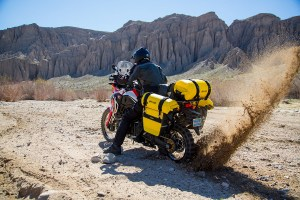 Deluxe Adventure Motorcycle Dry Saddlebags Image 19