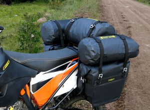 Deluxe Adventure Motorcycle Dry Saddlebags Image 12
