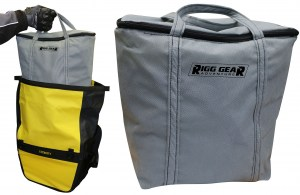Deluxe Adventure Motorcycle Dry Saddlebags Image 4