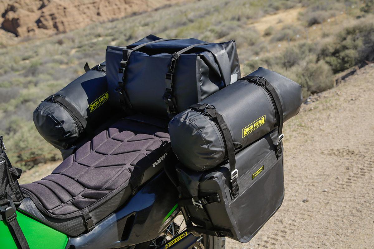 Nelson Rigg Dry Saddlebags Yellow Black Dual Sport