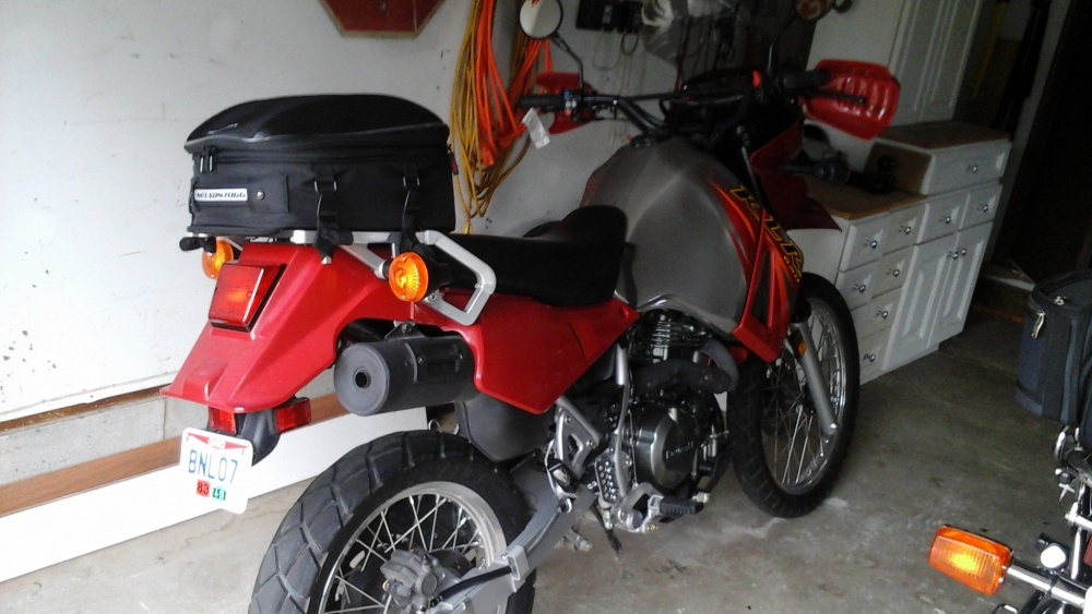 Cl 1060 st touring tail/seat pack