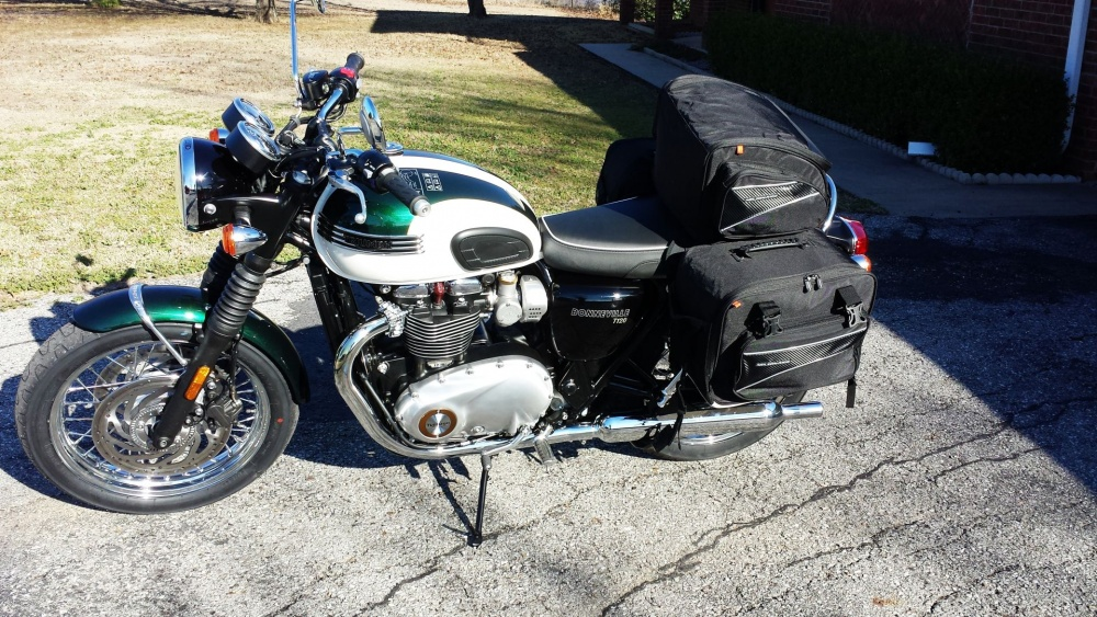 CL-855 Saddlebags / CL1040-TP Tail Pack