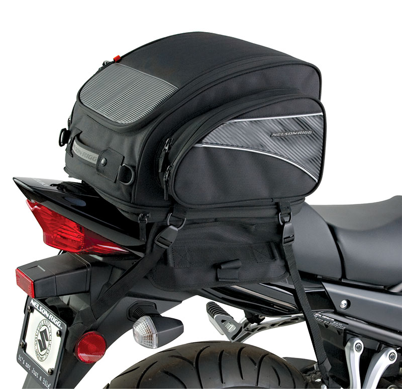 Cl 1040 Tp Expandable Sport Motorcycle Tail Bag Image