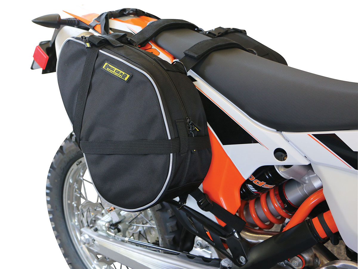 Dual-Sport / Enduro Motorcycle Saddlebags
