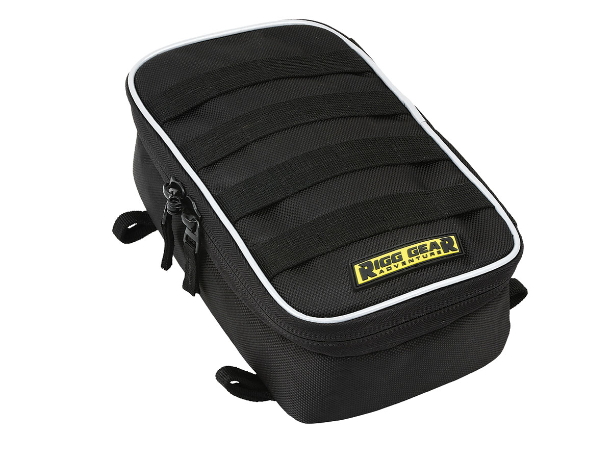 Rear Fender Bag with Tool Roll