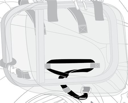 CL-855 Rear Under Straps (PAIR)