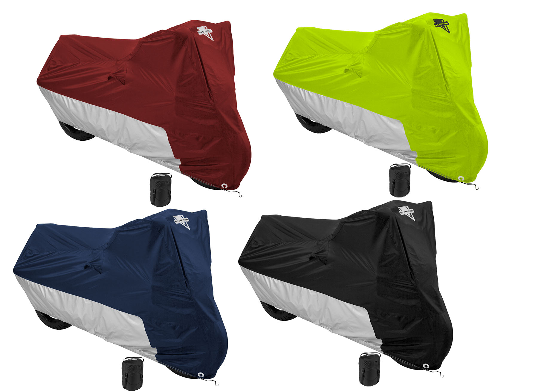 Nelson Rigg Defender Deluxe Water Resistant Motorcycle Cover Color Options