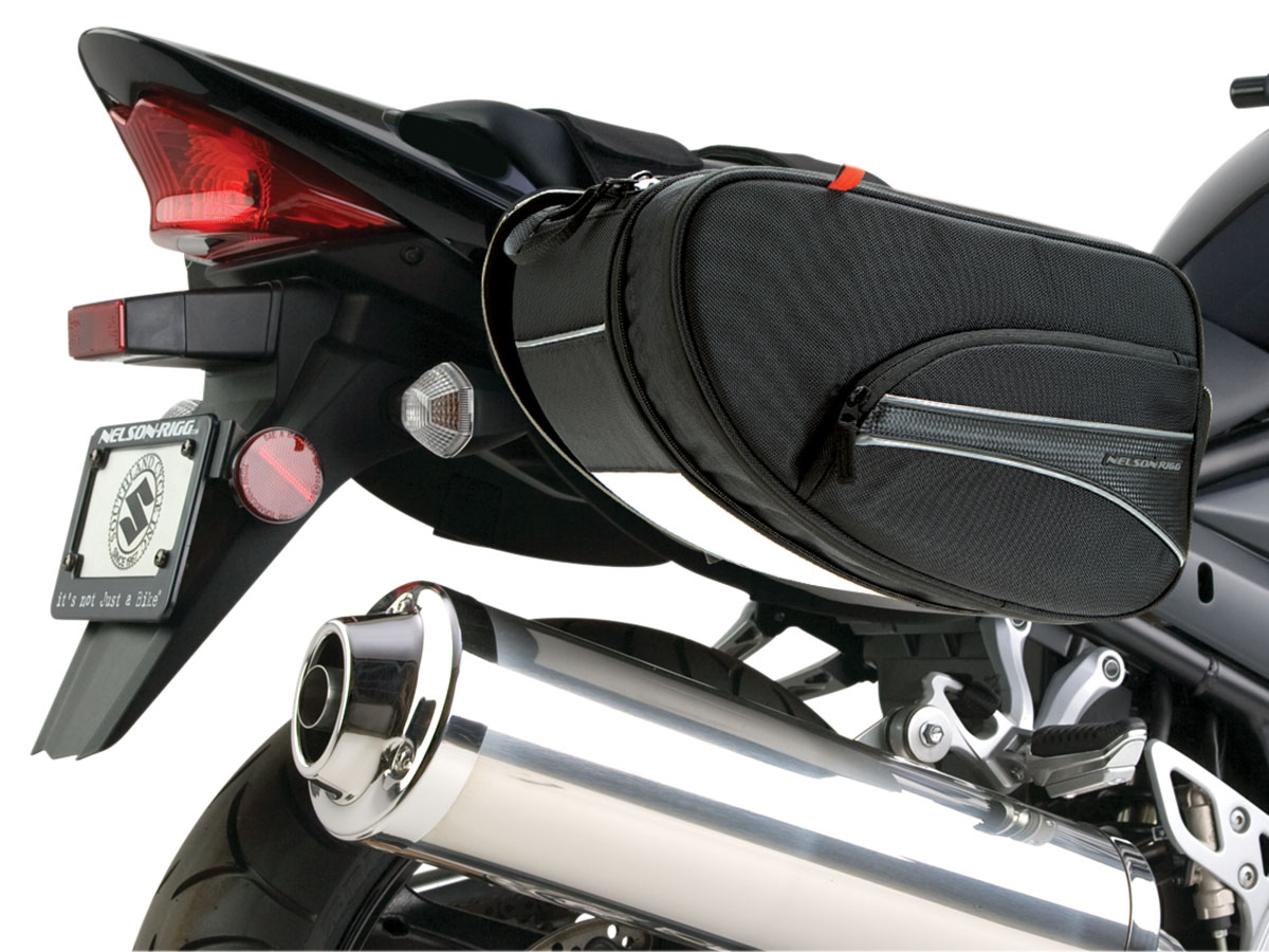 CL-890  Mini Expandable Sport Motorcycle Saddlebags