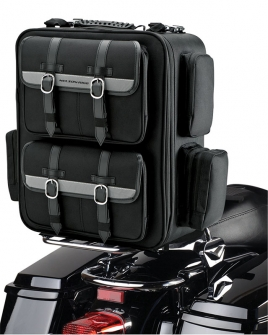 Nelson Rigg CTB-1050 Deluxe Cruiser Motorcycle Tail Bag