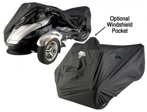 Nelson Rigg CAS-360 CAN AM Spyder Full Cover with Optional Windshield Pocket