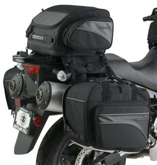 CL-855  Touring Motorcycle Saddlebags Image 1