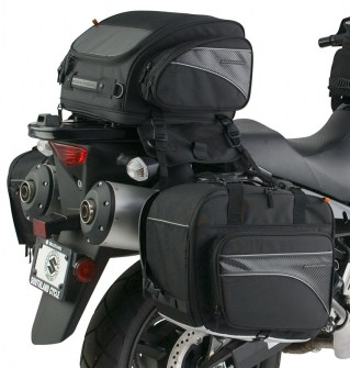 CL-1040-TP  Expandable Sport Motorcycle Tail Bag Image 1