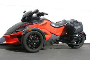 CL-855  Touring Motorcycle Saddlebags Image 2