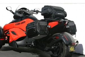 CL-855  Touring Motorcycle Saddlebags Image 4