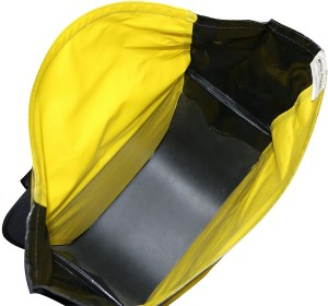 Nelson Rigg SE-3050-YEL Waterproof Motorcycle Dry Saddlebags Inside view