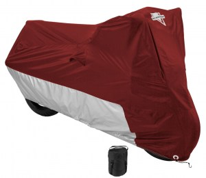 Nelson Rigg MC-903 Burgundy Water Resistant Motorcycle Cover with Compression Bag