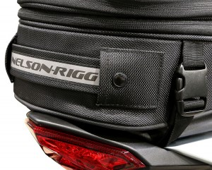Commuter Touring Motorcycle Tail Bag Image 4