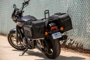 CL-855  Touring Motorcycle Saddlebags Image 6