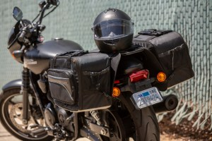 CL-855  Touring Motorcycle Saddlebags Image 8