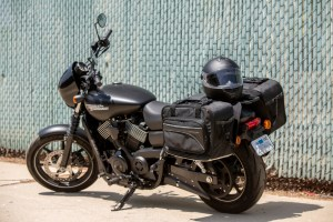 CL-855  Touring Motorcycle Saddlebags Image 9