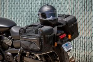CL-855  Touring Motorcycle Saddlebags Image 10