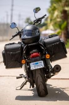 CL-855  Touring Motorcycle Saddlebags Image 11