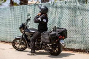 CL-855  Touring Motorcycle Saddlebags Image 12