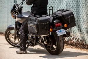 CL-855  Touring Motorcycle Saddlebags Image 13