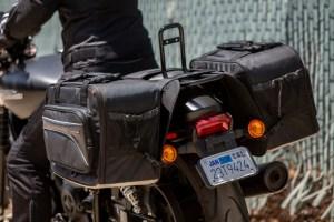 CL-855  Touring Motorcycle Saddlebags Image 14