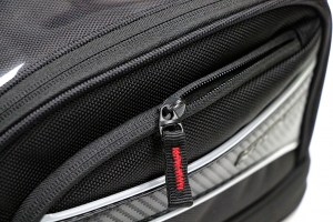 Nelson Rigg CL-2015 Motorcycle Tank Bag Reverse Coil Zipper