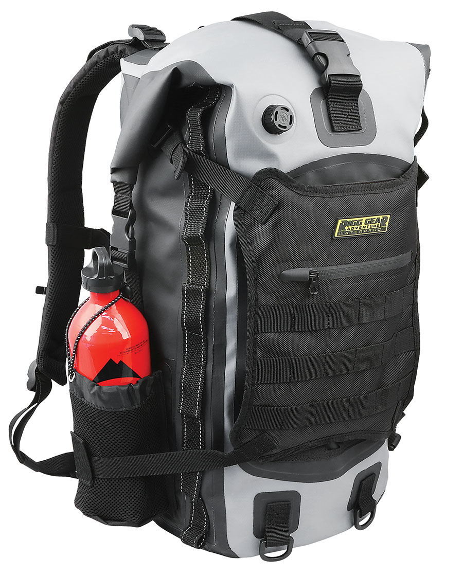 Nelson-Rigg | Hurricane Waterproof Backpack/Tail Pack | Sport Touring