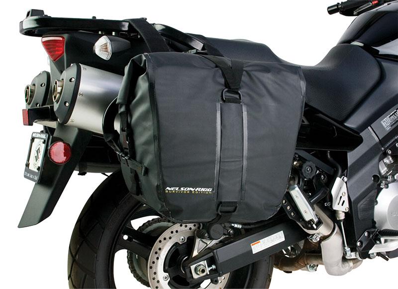 Nelson Rigg SE-3050-BLK Deluxe Adventure Dry Saddlebag Black