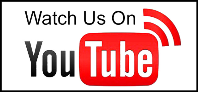 watch us on youtube